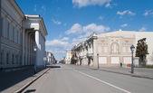 View of Petersburg street. Kazan. Russia — Stock Photo