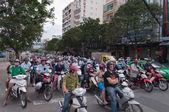 Traffic on the street. Ho Chi Minh City. Vietnam — Stock Photo