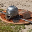 Viking weaponry — Stockfoto #28530279