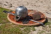 北欧海盗武器 — 图库照片