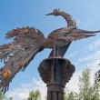 ������, ������: Monument Firebird from a fairy tale Tobolsk Russia