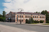 Street in Tobolsk. Siberia. Russia — Stock Photo