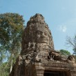 Stock Photo: TProhm Gate. Angkor. Cambodia