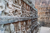 Leper King terrace. Angkor Thom. Cambodia — Stock Photo
