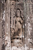 Apsara from bas-relief of Bayon Temple . Cambodia — Stock Photo