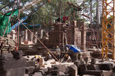 The restoration of Ta Prohm Temple. Angkor. Cambodia — Stock Photo