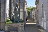 La Recoleta Cemetery — Stock Photo
