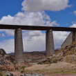 Railway bridge near San Antonio de los Cobres. Argentina — Stock Photo