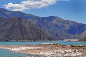 Potrerillos dam. Province of Mendoza. Argentina — Stock Photo