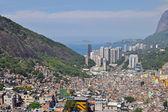 Favela Rocinha. Rio De Janeiro. Brazil. — Stock Photo