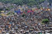 Brazilian favela in Rio de Janeiro — Stock Photo
