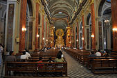Interior of Cathedral Basilica and Sanctuary of the Lord and the — Stock Photo
