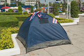 The tent of Thailand's Protestants — Stock Photo