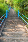 The stairs to the top of Tiger Cave Temple — Photo
