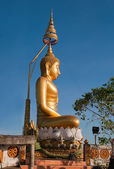 Buddha statue on the top of Tiger Temple (Wat Tham Suea) — Photo