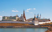 Kremlin in Kazan. Russia — Stock Photo