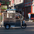 Chinese Auto Rickshaw at street in Beijing. China — Stock Photo #39950253