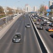 Stock Photo: Traffic on 3rd Ring Road in Beijing. China
