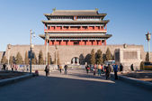The Zhengyangmen Gate. Beinjing. China — Stock Photo