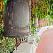 Old bells on the Golden mountain temple in Bangkok — Stock Photo #40620063