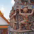 Statue of Giant at Wat Arun (Temple of Dawn) — Stock Photo #40620251