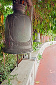 Old bells on the Golden mountain temple in Bangkok — Foto Stock