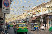 On the street in Bangkok — Stock Photo