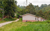 Aborigine Village (Orang Asli). Cameron Highlands. Malaysia — Stock Photo