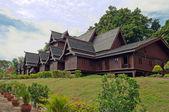 Replica of Melaka's Sultante Palace — Stock Photo