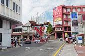 Jonker street in Malacca — Stock Photo