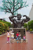 The father of bodybuilders of Malaysia — Stock Photo