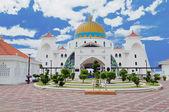 Malacca Straits Mosque — Stock Photo