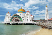 Malacca Straits Mosque — Stock Photo