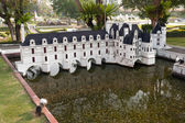 Chateau de Chenonceau in Mini Siam Park — Stock Photo