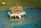Phra Thinang Aisawan Thiphya - Art in Mini Siam Park — Stock Photo