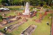 Wat Ratburana in Mini Siam Park — ストック写真