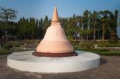 Phra Pathom Chedi in Mini Siam Park — Stock Photo
