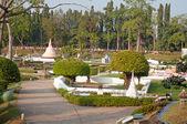 View of  Mini Siam Park — Stock Photo