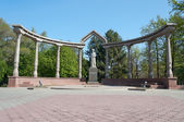 Kurmanjan Datka Monument — Стоковое фото