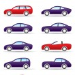 Royalty-Free Stock Vectorielle: Different types of modern cars