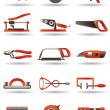Stock Vector: Construction and building manual tools