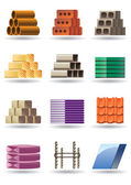 Building and constructions materials — Stock Vector