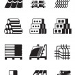 Building and construction materials — Imagen vectorial