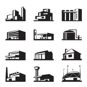 Various types of construction — Stock Vector