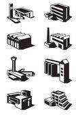 Různé typy stavby — Stock vektor