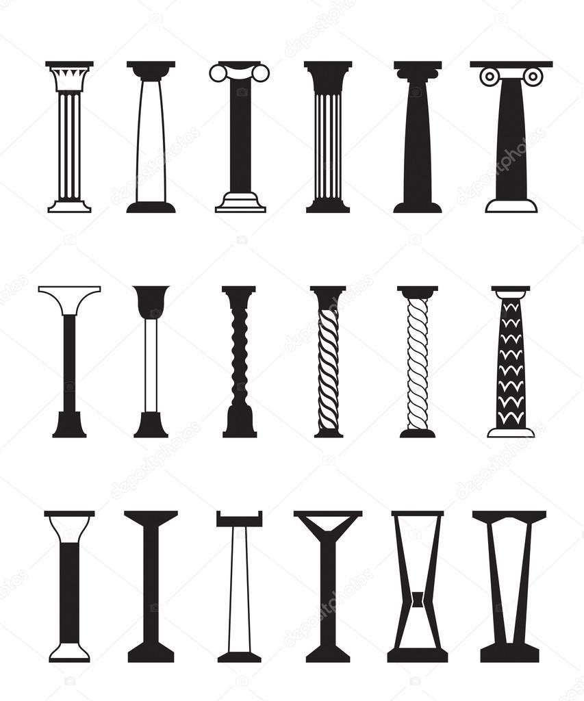 Soorten kolommen