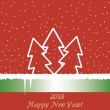 Royalty-Free Stock Vector Image: New Year 2013 background.