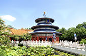 Disney World, Epcot, chinese pavilion. — Stock Photo