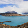 Perito Moreno mountains, glacial lake, Argentina, Chile. — Stock Photo #14720119