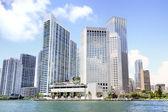 View of Miami, Florida, USA. — Stock Photo